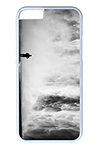 Brian114 6 plus Case, iPhone 6 plus Case - Anti-Scratch Case Bumper for iPhone 6 Plus Black And White Waterfall Slim Fit Case for iPhone 6 Plus 5.5 Inches