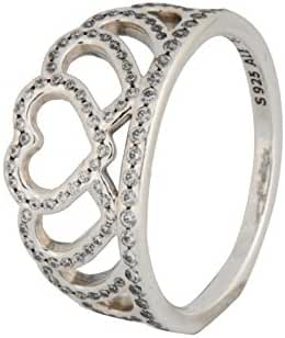 PANDORA Hearts Tiara Ring 190958CZ, Different Sizes Available (7 / 54)