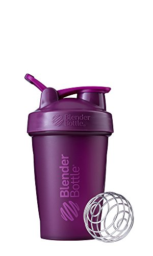 BlenderBottle Classic Loop Top Shaker Bottle, 20-Ounce, Plum/Plum - C01624
