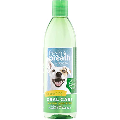 Tropiclean Fresh Breath Plaque Remover Pet Water Additive, 16 Ounce