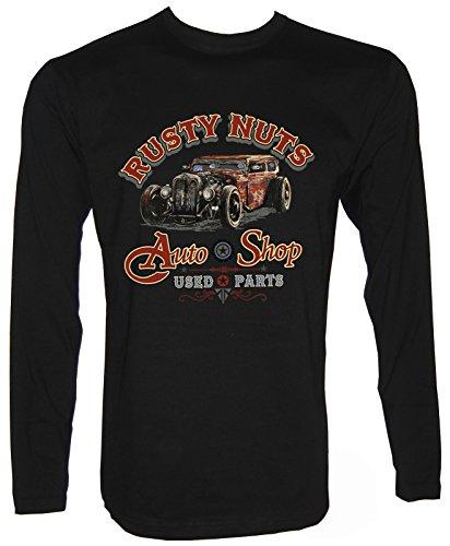 Rusty Nuts Hot Rod Langarm T-Shirt