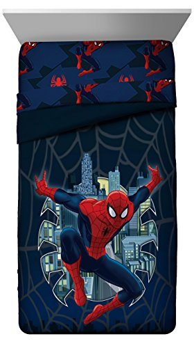 spiderman quilt - 4