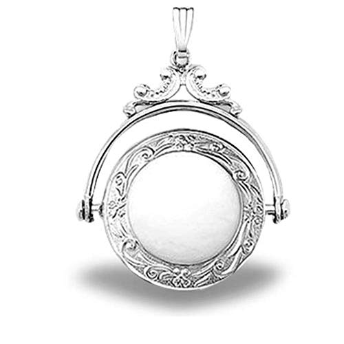 Sterling Silver Round...