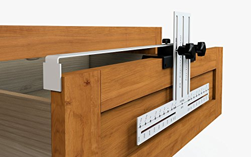 SuperEasy Jig 320 Template for easy installation of Kitchen Cabinet Pulls Handles knobs for Doors and Drawers