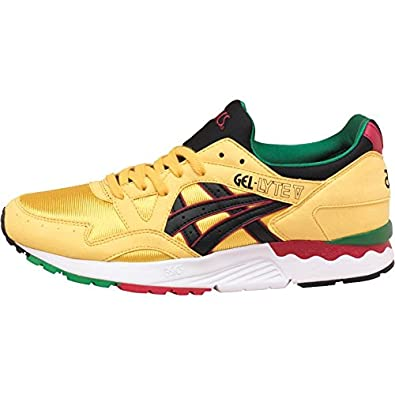 Yellow Lyte V Pack Jamaica Tiger Gel Mens Trainers Carnival Asics X8nwk0OP
