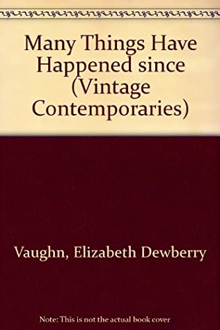 book cover of Many Things Have Happened Since