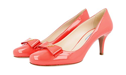 Chaussures 1i790d Femme Cuir Prada pompes Cour En q4vXxw8