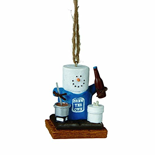 """UPC 738449218310, 1 X S'mores """"Brew Your Own"""" Beer Ornament"""
