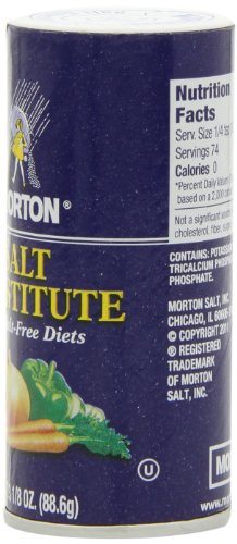 Morton Salt Substitute, 3.12-Ounce (Pack of 6) by Morton (Image #3)