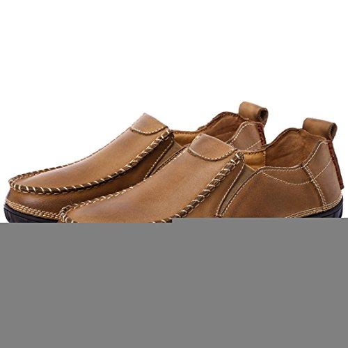 Miyoopark UK-XCR9523, Herren Mokkasins, Braun - Braun - Größe: 38