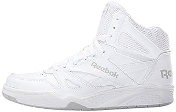 Reebok Men's Royal Bb4500h Xw Fashion Sneaker, Whitesteel, 10.5 4e Us 4