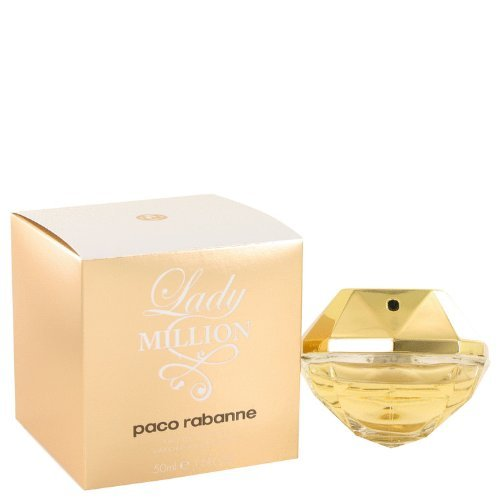 Lady Million Perfume By PACO RABANNE 1.7 oz Eau De Toilette Spray FOR WOMEN (Perfumes Hombres Paco Rabanne)
