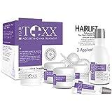 HairToxx made in brazil - coffret luxe botoxx capillaire professionnel pour cheveux abimés - composé d'ACAI du brésil et d'acide hyaluronic - shampoing + masque + serum - 3 applications (140ml)