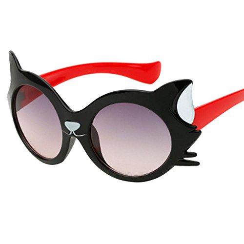 Limsea Hot Sale! Children Sunglasses Baby Girls Boy Cartoon Cat UV400 Toddler Sunglasses ()