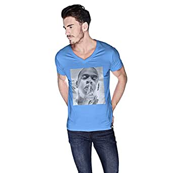 Creo Jay Z T-Shirt For Men - L, Blue