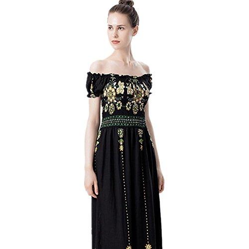 Fashion Summer Nouvelle De Ladies Robe Tempérament Qunzi Longue AOqx17W
