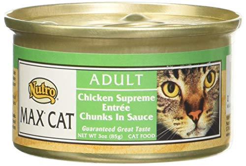 Nutro Max Cat Chicken Supreme Adult (24X3Oz)