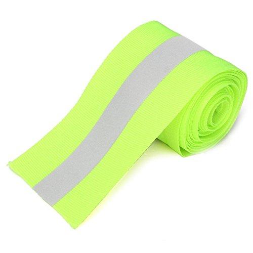 Liquid Batik Dye (WALLER PAA 3M Silver Reflective Tape Safty Strip Sew On Lime Green Gray Trim Fabric Wth 2