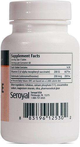Genestra Brands - Selenium + E - Helps Prevent Cellular Free Radical Damage* - 60 Tablets by Genestra Brands (Image #1)