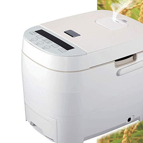 多機能 炊飯器 5合炊き マイコン式 糖質カット機能搭載 ダイエット ヘルシー フード スチーム調理機能搭載 レシピ 食品 おしゃれ ホワイト