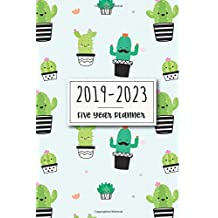 2019-2023 Five Year Planner: Monthly Schedule Organizer, Agenda Planner For The Next Five Years, Appointment Notebook, Monthly Planner, Action Day, Passion Goal Setting