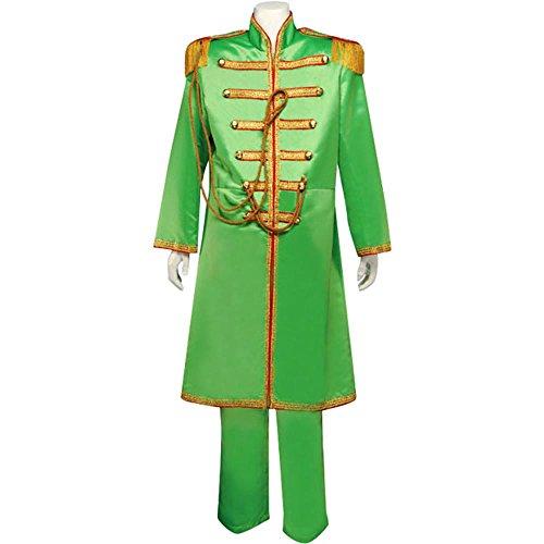 Men's Medium Green Beatles Sgt. Pepper's Costume (Sgt Pepper Costume)