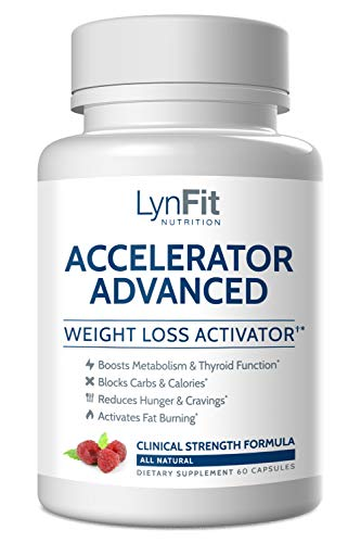 Accelerator Advanced (with Raspberry Ketones, White Kidney Bean Extract, Coleus Forskohlii, Gugul) - A Natural & Effective Non-GMO Solution for Weight Loss