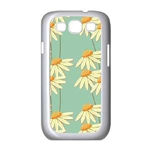 Samsung Galaxy S3 Case, Print Daisy Case for Samsung Galaxy S3 {White}