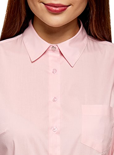 Donna Tasca con Basic Rosa oodji Camicia 4010b Ultra 85RCq
