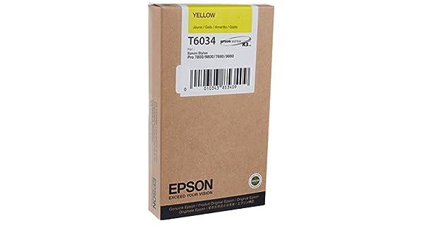 EPSON 7800 YELLOW INK 1=1CRT