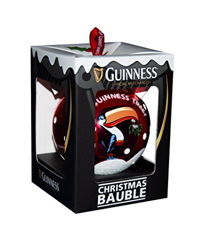 Guinness Toucan Glass Bauble (Glass Toucan)