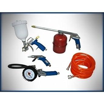 Kit de compresores de 5 piezas de accesorios de aire comprimido para pistola de aerografo: Amazon.es: Industria, empresas y ciencia