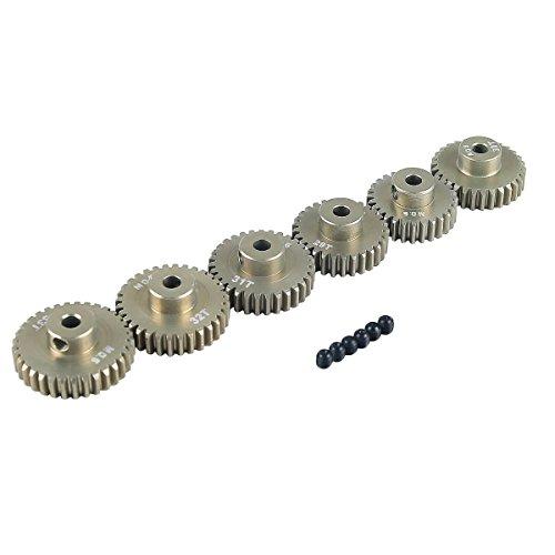 RCRunning M0.6 3.175mm 28T 29T 30T 31T 32T 33T Gear with Screw for 1/10 RC Motor by