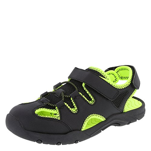 deac3e780a72 Rugged Outback Boy s Black Green Sport Fisherman Big Kid Size 5 Regular