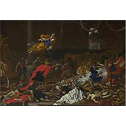 The Perfect Effect Canvas Of Oil Painting 'French Or Flemish - Perseus Turning The Followers Of Phineus Into Stone,1650s' ,size: 12x18 Inch / 30x45 Cm ,this High Quality Art Decorative Prints On Canvas Is Fit For Laundry Room Decoration And Home Decor And Gifts