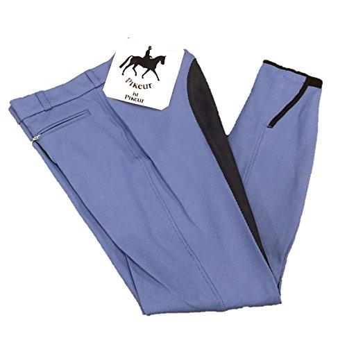 Pikeur Lugana Contrast McCrown Full Seat Ladies Breeches Nautic Blue/Night Blue UK10 / DE38 (Pikeur Breeches)