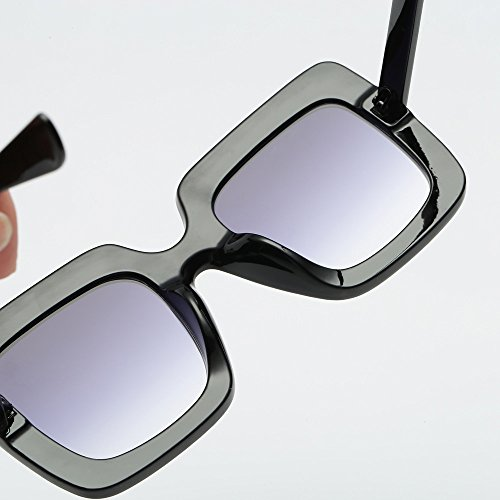 20fdf966f82 Fheaven Womens Fashion Artificial Diamond Cat Ear Quadrate Big Metal Frame  Brand Classic Sunglasses (D