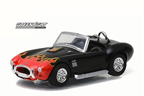 Greenlight 96170C Motor World Series 17 1965 Shelby Cobra 427 S/C with Flames 1:64 Scale Diecast