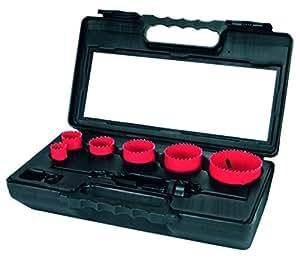Terrax A106340 - Juego de coronas perforadoras - Mantenimiento - Electricidad (8 piezas)