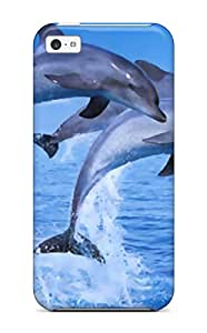 Hot Case Cover Dolphins Iphone 5c Protective Case