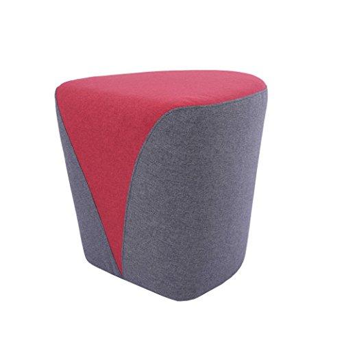 Fabric Upholstered Vanity - Sunon Heart Upholstered Tufted Ottoman Stool,18.1
