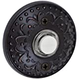Fusion Hardware BEL-S9-ORB Bella Villa Collection Venice Doorbell, Oil Rubbed Bronze, 1-Pack