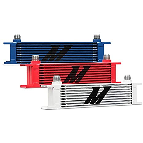 Mishimoto MMOC-10 Universal 10 Row Oil Cooler Silver