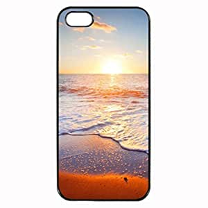 Beach Tropical Beach and Stones Photo Hard Case , iPhone 5 5S Case , Fashion Image Case Diy, Personalized Custom Durable Case For iPhone 5 & iPhone 5S