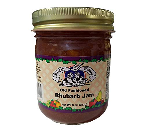 Amish Made Rhubarb Jam- 9 oz - 2 Jars