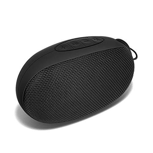 Bluetooth Speaker, LFS Portable Wireless Speakers with 10W Louder Stereo Sound & Rich Bass, 80ft Bluetooth Range, 12H Playtime – Support TF Card for Home, Sports, Travel, Outdoors (Black)