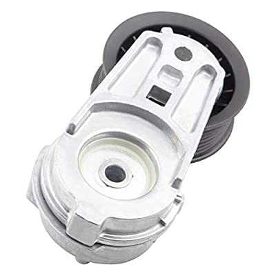 MYSMOT Automatic Belt Tensioner and Pulley Assembly ONLY For 5.7L V8 2007-2008 Chrysl-er Aspen / 2003-2008 Dodge Ram 1500 Ram 2500 Ram 3500/2004-2008 Dodge Durango, Replace# 38382 53032130AA: Automotive