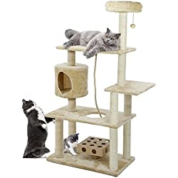 FurHaven Tiger Tough 33 Styles of Scratching Posts and Cat Tree House Furniture Condos for Cats and Kittens