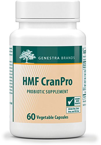 Acidophilus Urinary Tract - Genestra Brands - HMF CranPro - Probiotics and Cranberry Extract for Urinary Tract Support* - 60 Capsules