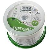 Maxell DVD+R 4.7GB 16X Printable 50ER SPINDEL